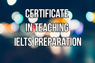 Certificate in Teaching IELTS Preparation